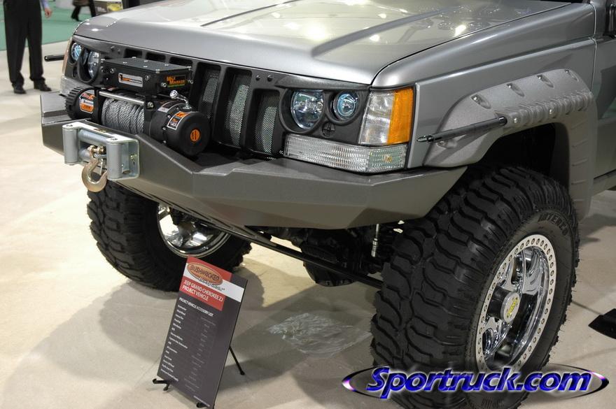 Zj With Round Headlights Jeepforumcom