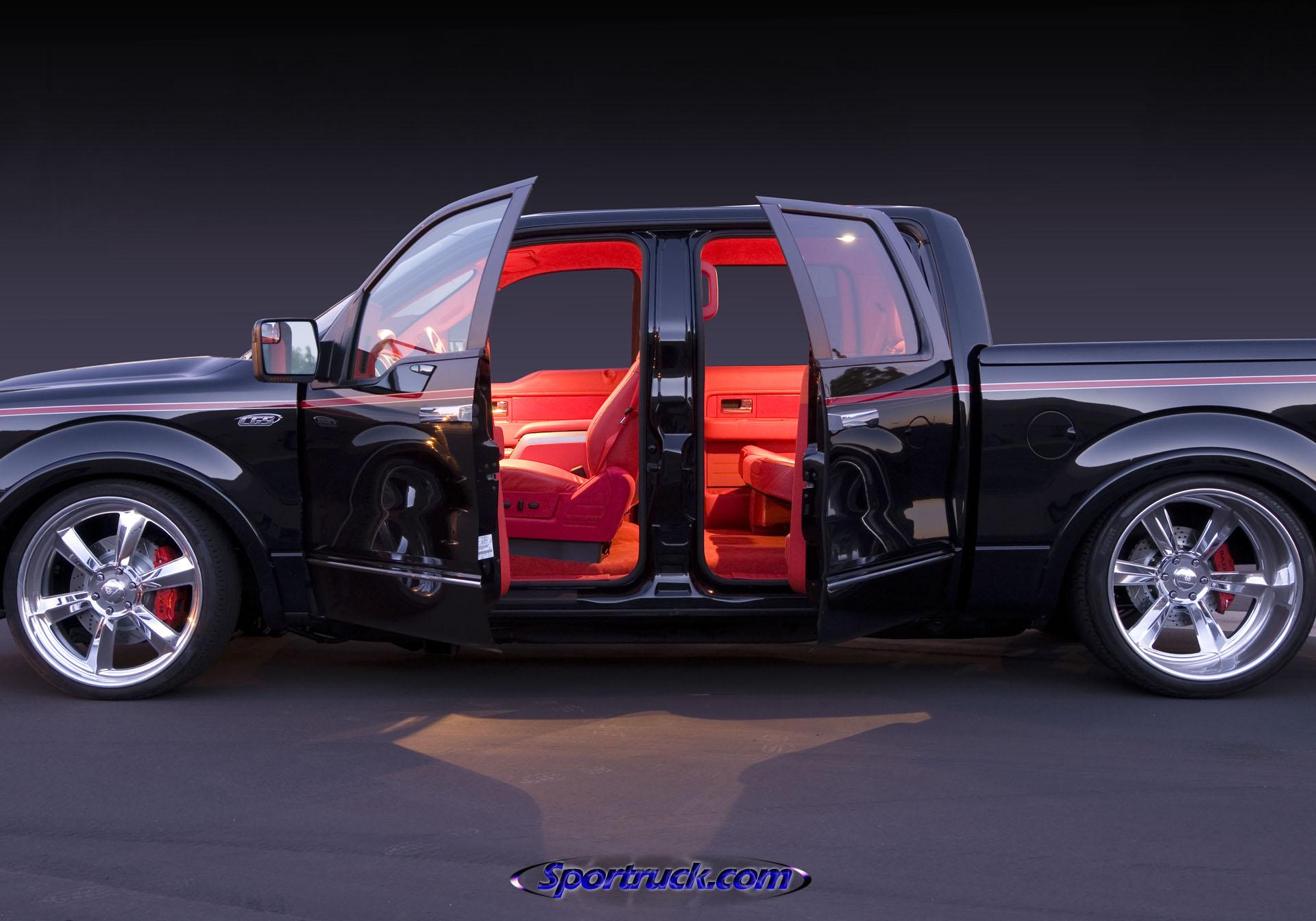 Tarmac Ford F-150 - Casey Scranton - CGS Performance Products - Feature Truck - Sportruck.com