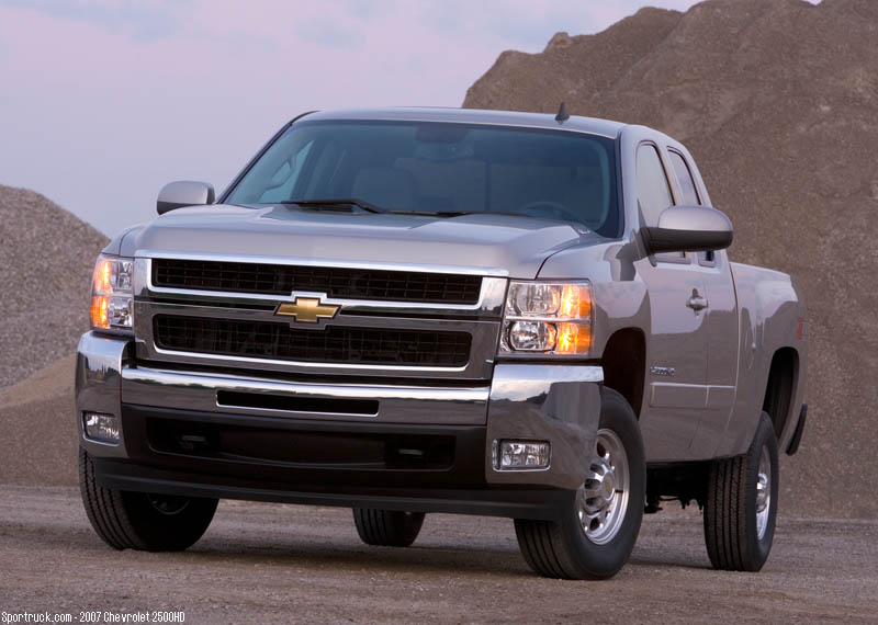 2007 chevrolet 2500hd and 3500hd heavy duty silverado pictures and information. Black Bedroom Furniture Sets. Home Design Ideas