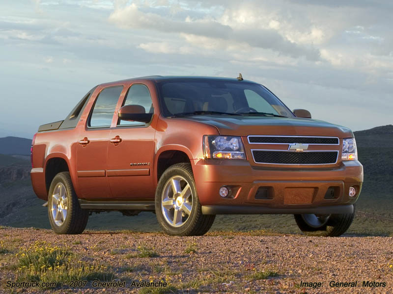 2007 chevrolet avalanche pictures and information. Black Bedroom Furniture Sets. Home Design Ideas