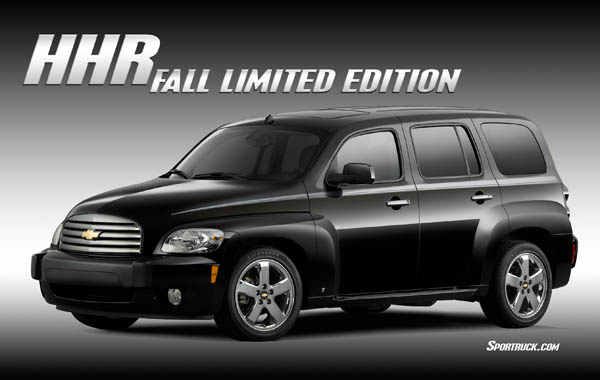 2007 chevrolet hhr fall limited edition pictures and information. Black Bedroom Furniture Sets. Home Design Ideas