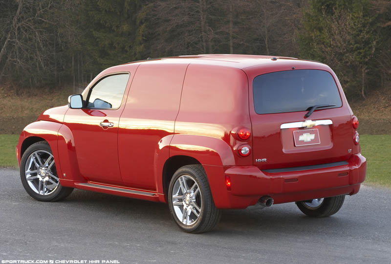 2007 chevrolet hhr panel wagon pictures and information. Black Bedroom Furniture Sets. Home Design Ideas