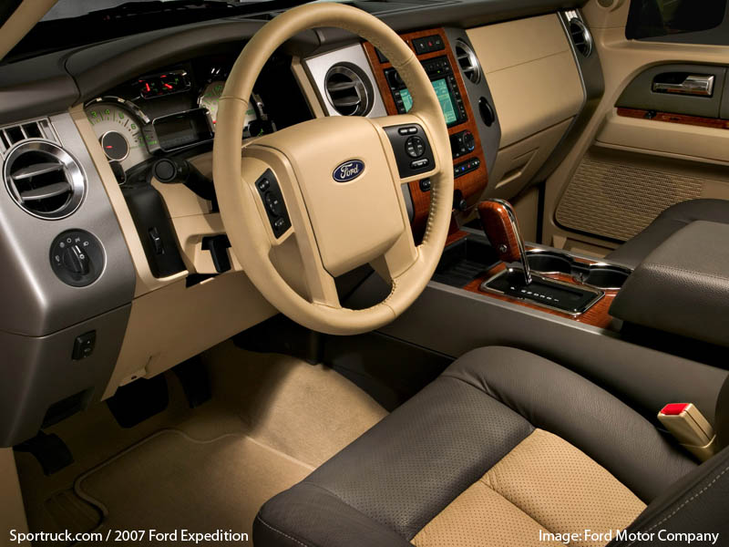 Ford Expedition El >> 2007 Ford Expedition Pictures and Information - Sportruck.com