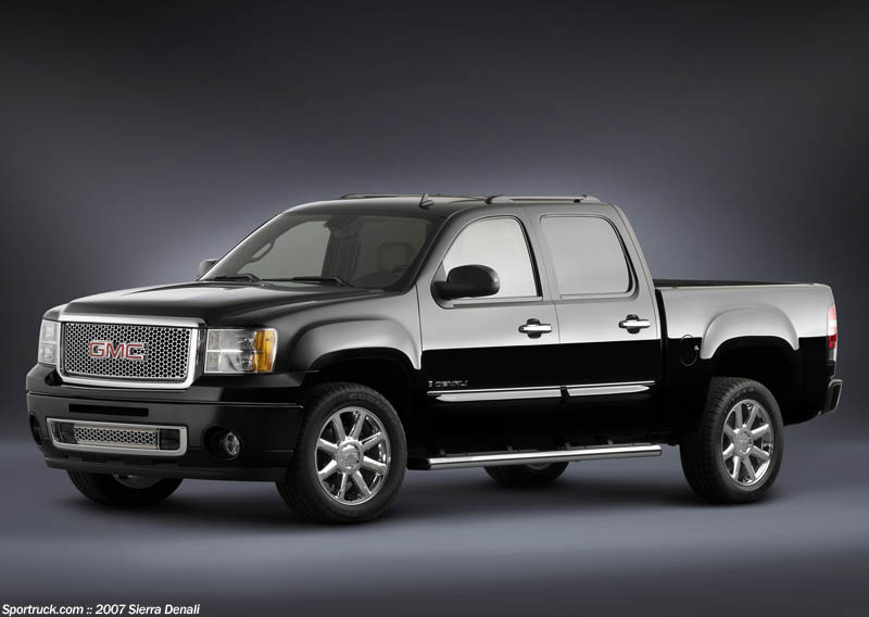 2007 GMC Sierra Denali - Pictures and Information - Sportruck.com