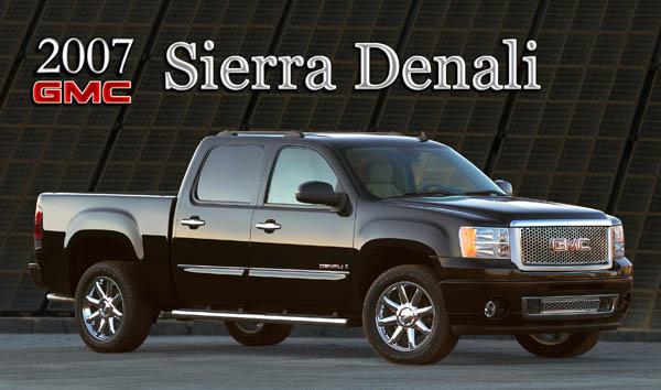 2007 Gmc Sierra Denali