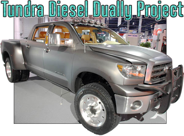 Toyota Tundra Dually Diesel
