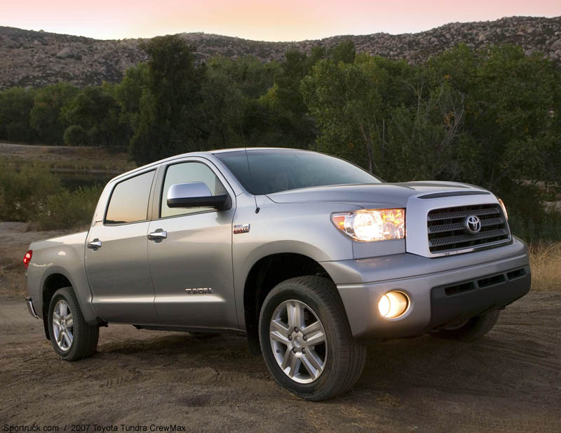 2007 white toyota tundra truck. Black Bedroom Furniture Sets. Home Design Ideas