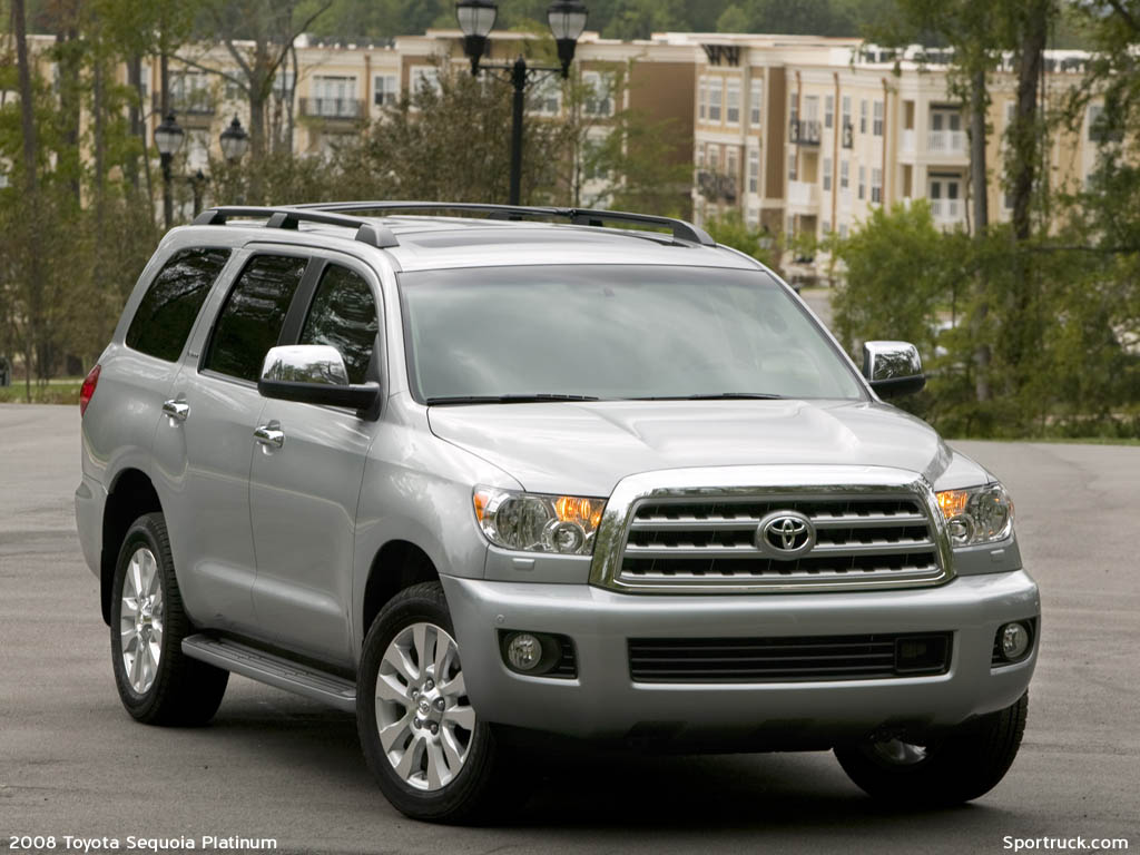 2008 toyota sequoia pictures and information. Black Bedroom Furniture Sets. Home Design Ideas