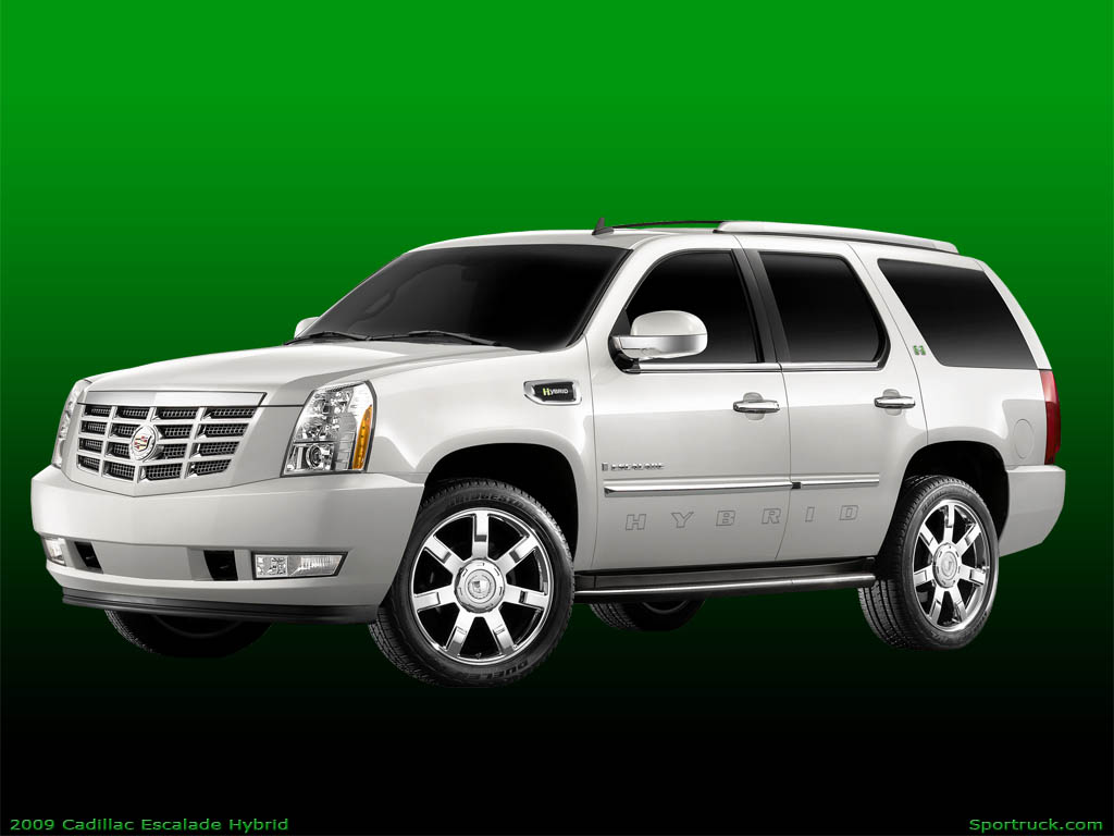 2009 cadillac escalade hybrid pictures and information. Black Bedroom Furniture Sets. Home Design Ideas