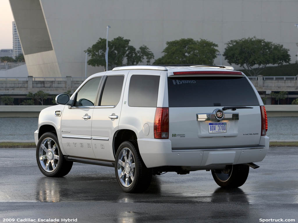 2009 Cadillac Escalade Hybrid Pictures And Information