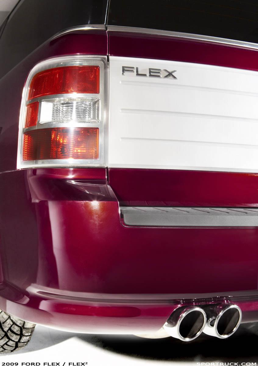 2009 ford flex funkmaster flex2 and foose flex editions