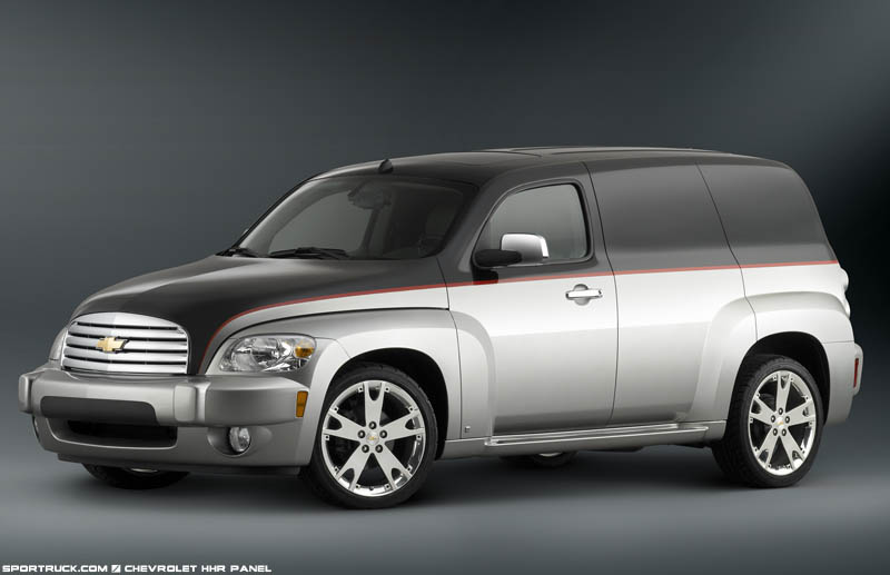 2007 Chevrolet Hhr Panel Wagon Pictures And Information