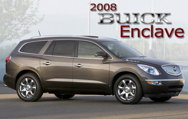 2008 Buick Enclave - Pictures and Information - Sportruck.com