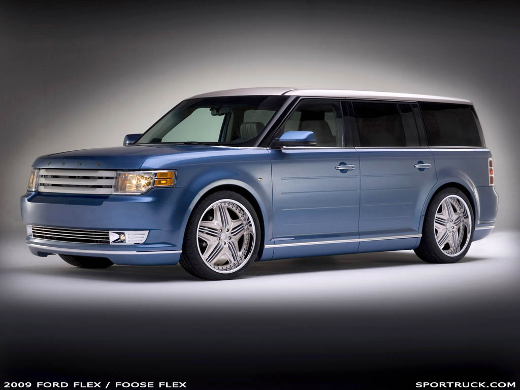 What Is A Rocker Panel >> 2009 Ford Flex - Funkmaster Flex2 and Foose Flex Editions - 2007 SEMA Show Feature - Pictures ...
